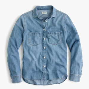 {J.Crew} Everyday Chambray Shirt